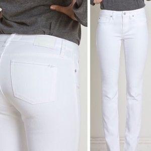 Henry & Belle White Ideal Ankle Skinny Jeans 31